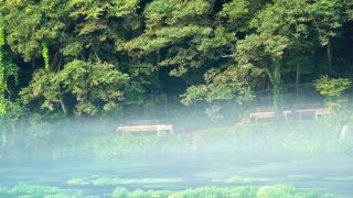 まるでジブリの世界観?道頓堀の珈琲艇『CABIN』