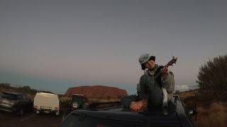 AUS旅日記#24 今では見れないウルルの登山道と頂上からの景色